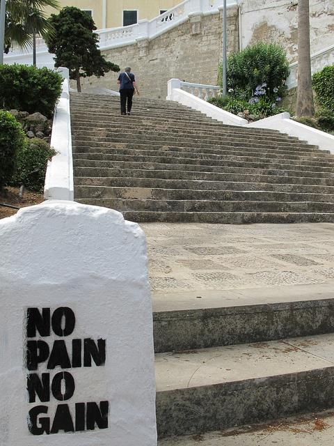 Перевод выражения no pain, no gain
