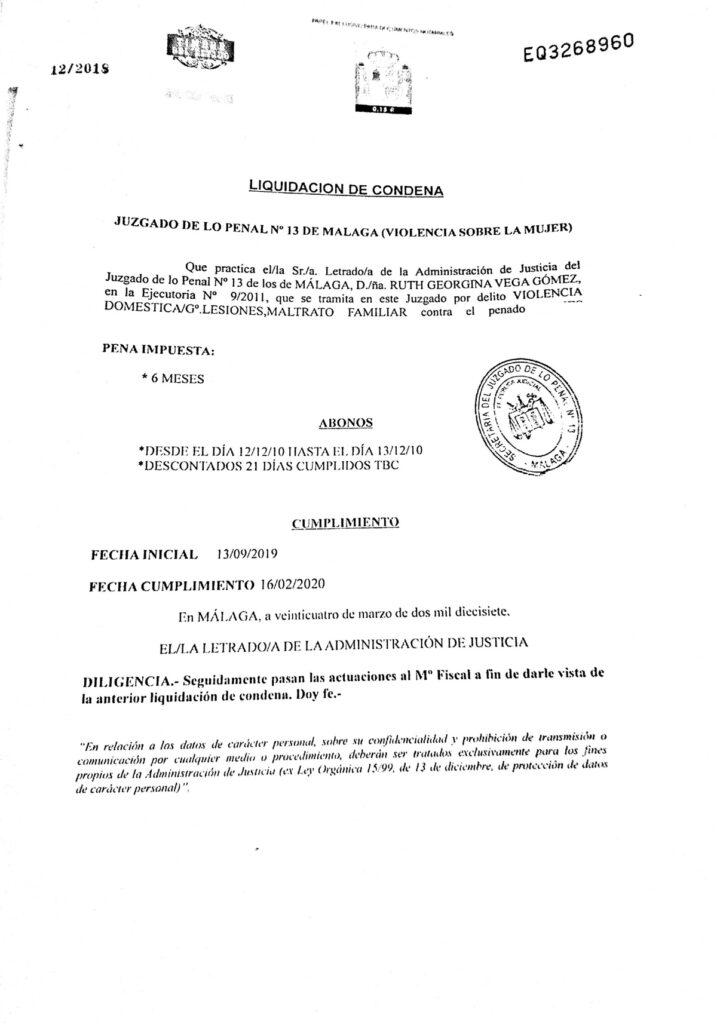Образец перевода юридических документов с испанского